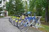 Parking for bicycles — Stock Photo
