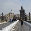 Stock Photo: Ancient Charles Bridge in Prague