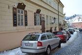 Street in center of Prague — Stock Photo
