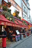 Street cafe in Paris — Stock Photo