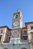 Clock Tower in Rimini (Torre dell Orologio). — Stock Photo