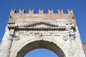 Arch of Augustus in Rimini — Stock Photo