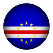 Botão de bandeira de cabo verde. — Vetorial Stock