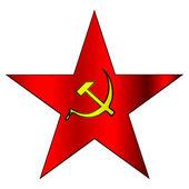 Communist Symbol Star Communist hammer and s...