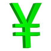 Yen symbol icon — Stock Vector