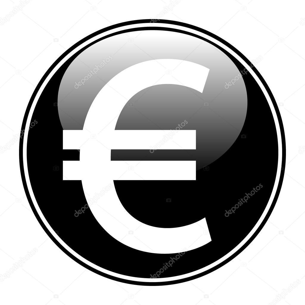 欧元按钮 — 图库矢量图片 #43150719