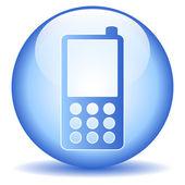 Phone button — Stock Vector