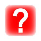 Question button — Stock Vector