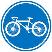 Cykel tecken — Stockvektor