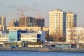 October Embankment in Petersburg — Stock Photo
