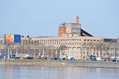 工业郊区的圣彼得斯堡 — 图库照片