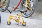 "Unusual bicycles. Velofestival ""VelikiDen"" at Loft Project Etagi. — Photo"