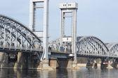 Finland Railway bridge, St.Petersburg. — Stock Photo