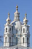 Smolny Cathedral of the Resurrection — ストック写真