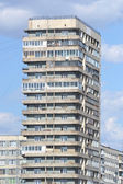 Modern building on the outskirts of St. Petersburg — Stock Photo