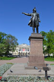Statue of Alexander Pushkin — Stock Photo