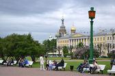 Field of Mars in downtown St. Petersburg — Stock Photo
