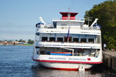 Rivier cruiseschip — Stockfoto