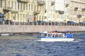 View of the Fontanka River in Saint Petersburg — Stock Photo