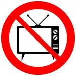 No TV sign — Stock Vector #46745425