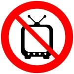 No TV sign — Stock Vector #46745427
