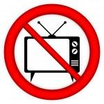 No TV sign — Stock Vector #46745435