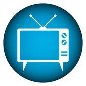 TV button — Stock Vector
