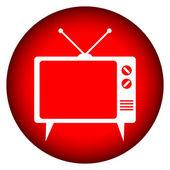 Tv-knappen — Stockvektor