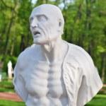 Statue of ancient Roman philosopher Seneca — Stock Photo #47908701