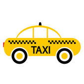 Taxi car icon — Stock Vector