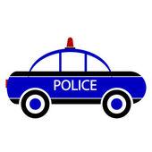 Police car icon — Stok Vektör