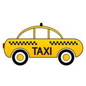 Taxi car icon — Stock Vector