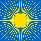 Sonne-Symbol — Stockvektor