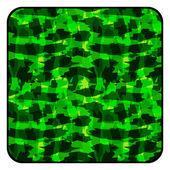 Camouflage button — Vector de stock