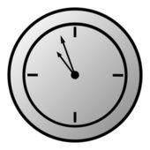 Przycisk zegar — Wektor stockowy
