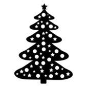 Christmas Tree icon — Stock Vector