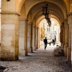 Arch corridor — Stock Photo