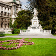 Burggarten park in Vienna — Stock Photo #33373511