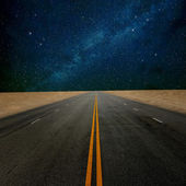 Road to star — Stock Photo