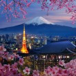 Stock Photo: Various travel destination in Japan