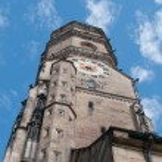 Stiftskirche (Collegiate Church) : North Tower (closeup view) — Stock Photo #12496577