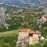 Amazing view of Meteora monastery — Stock Photo #12004566