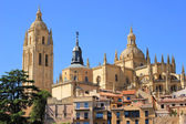 In the center of Segovia — Stock Photo