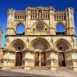Beautiful gothic church in Cuenca - Stock Photo