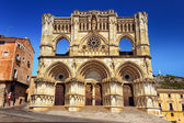 Beautiful gothic church in Cuenca — Stock Photo