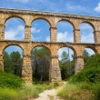 Stock Photo: Aqueduct in Catalonia