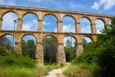 Aqueduct in Catalonia — Stock Photo
