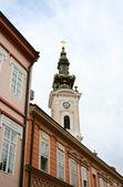 View of old Novi Sad in Serbia — Stock Photo