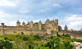 Old town of Carcassone — Stock Photo
