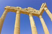 świątynia apollina — Zdjęcie stockowe